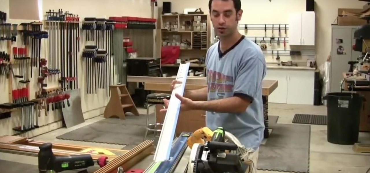 Build an Outfeed Table for a Table Saw