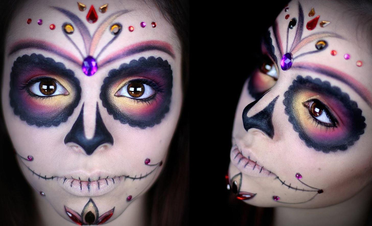 Easy Skull Face Paint Tutorial