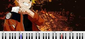 "Play ""Hokage Funeral"" from Naruto on the piano"