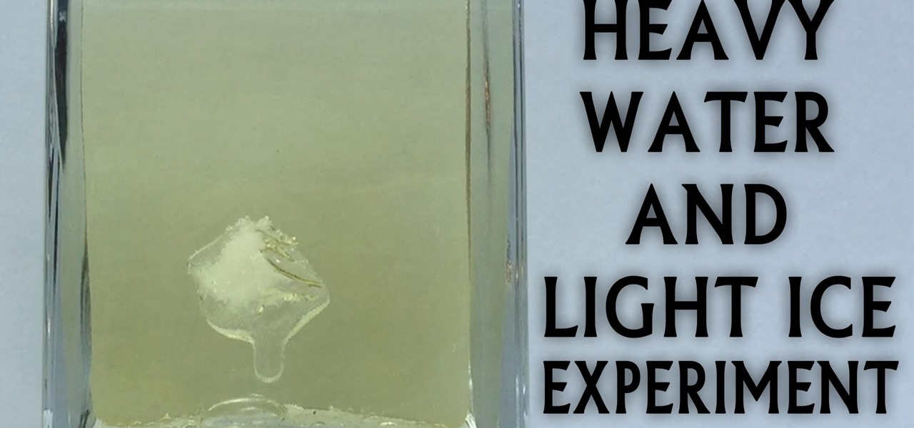 Heavy Water & Light Ice Experiment