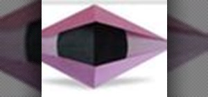 Origami a blinking eye Japanese style