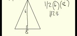 Find the area of a parallelogram and a triangle