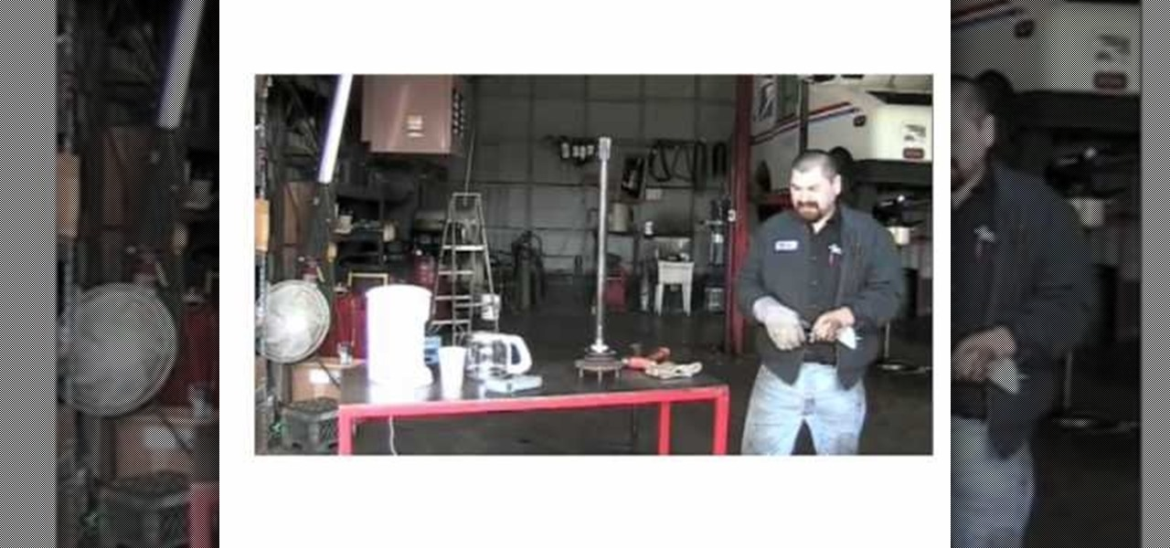 How to Use a coffee maker to install wheel bearings into an axle