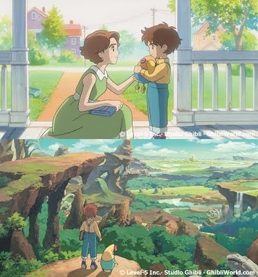 ni no kuni another world from studio ghibli load save