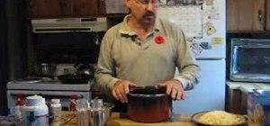 Cook a lasagna