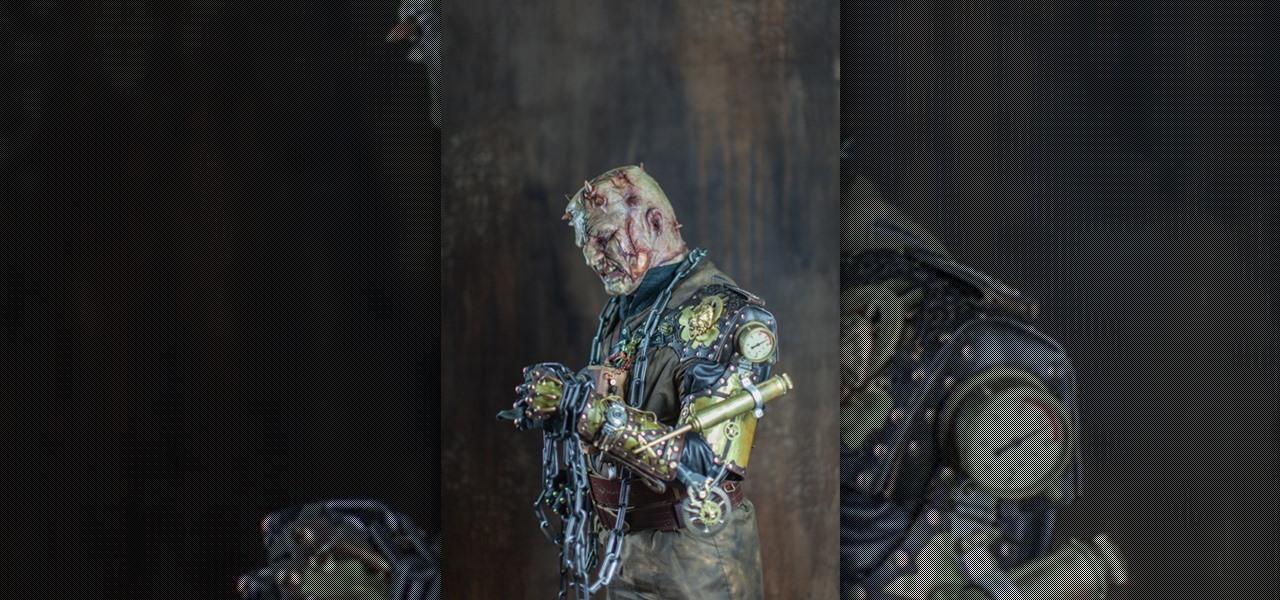 Maker Thomas Willeford Gets Turned into Steampunk Frankenstein