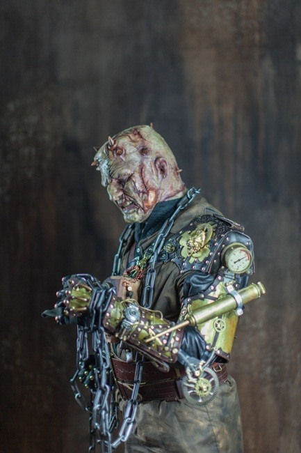 Maker Thomas Willeford Gets Turned into Steampunk Frankenstein