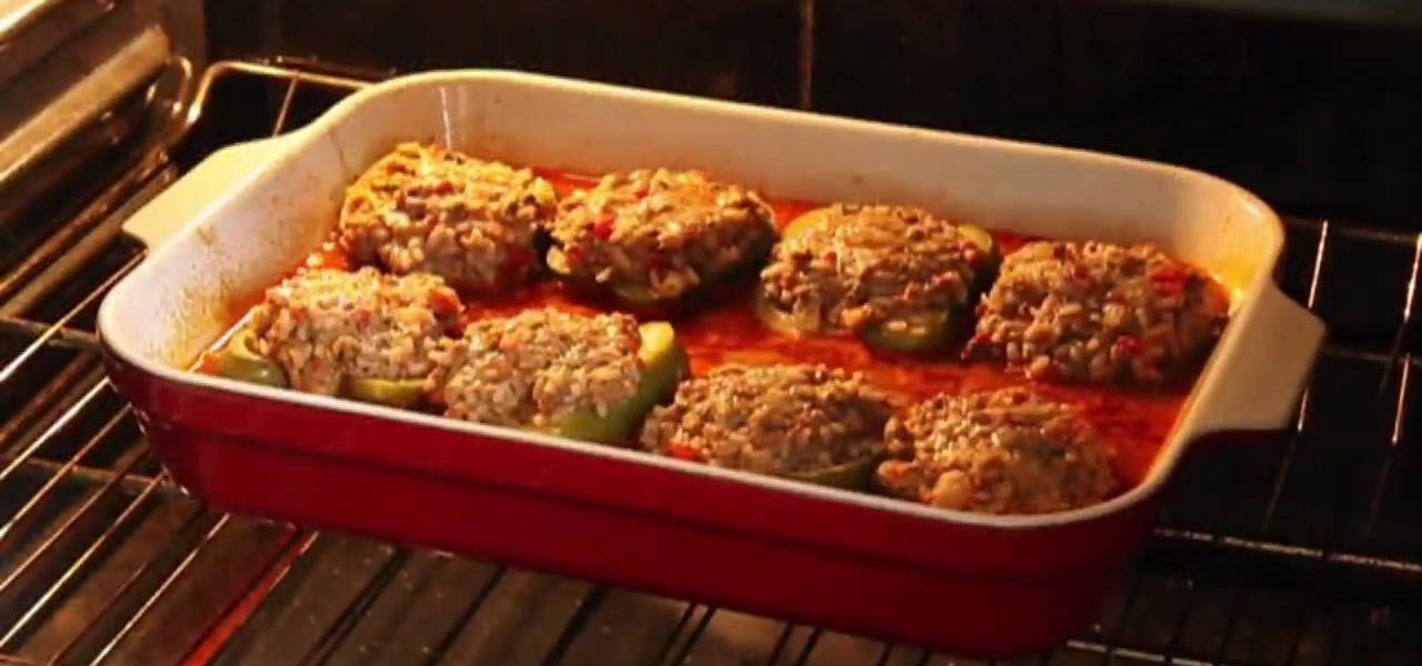 How to Make beef and rice stuffed bell peppers « Meat Recipes ...