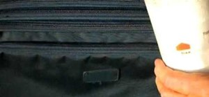 Stop bed bugs from entering your suitcase