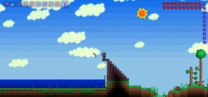 Go fishing in Terraria