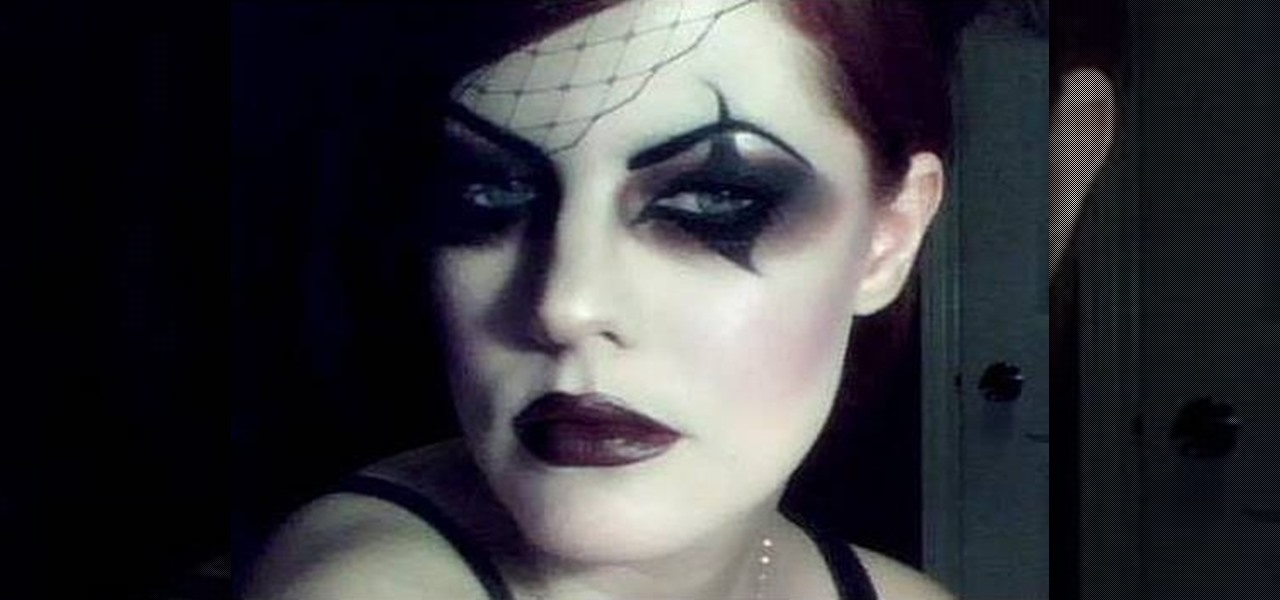 How To Create A Dark Victorian Gothic Circus Girl Makeup Look For Halloween WonderHowTo