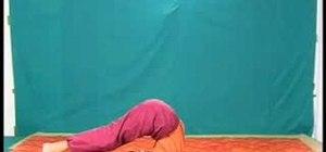 Practice sarvangasana, halasana & sarvasana yoga poses