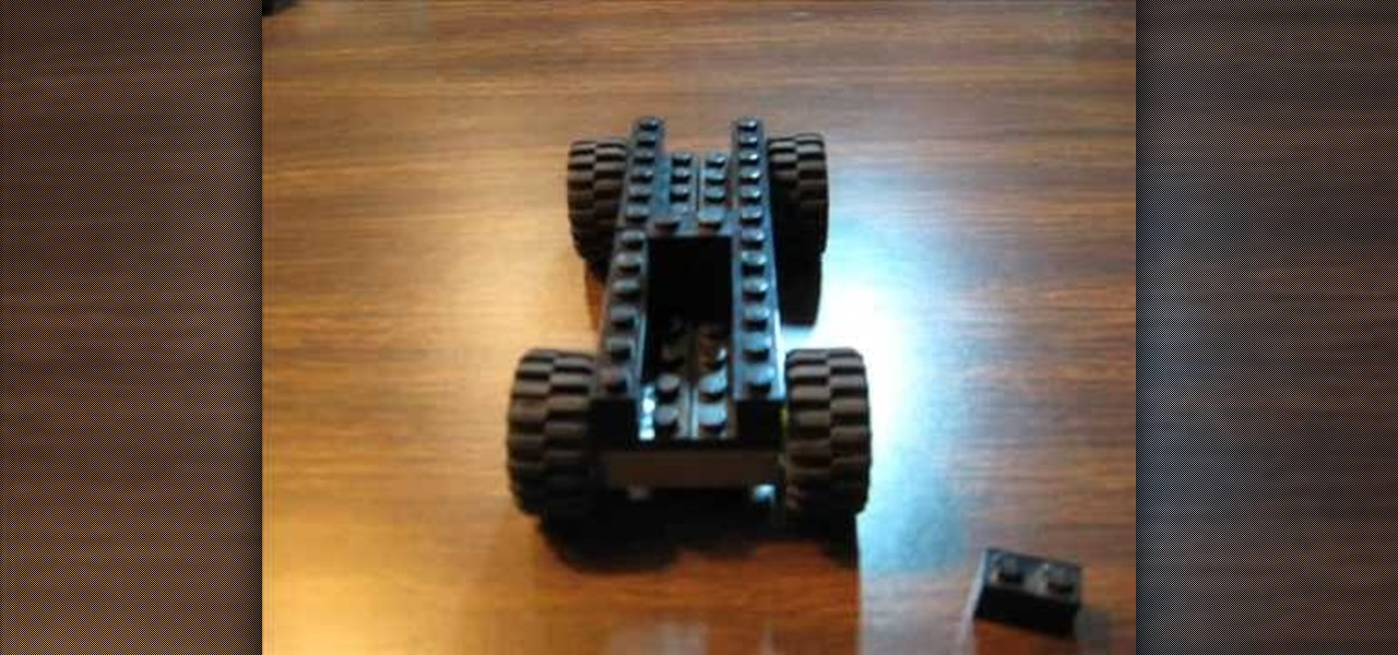 how to build a lego car construction toys wonderhowto. Black Bedroom Furniture Sets. Home Design Ideas