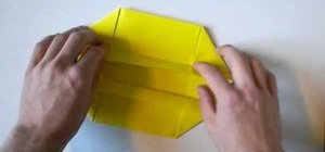 Make a simple origami box for beginners