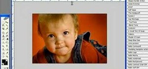 Retouch baby photos in Photoshop