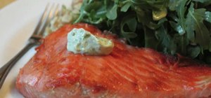Make a crispy cast iron seared salmon filet