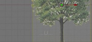 Design a photorealistic tree with Blender