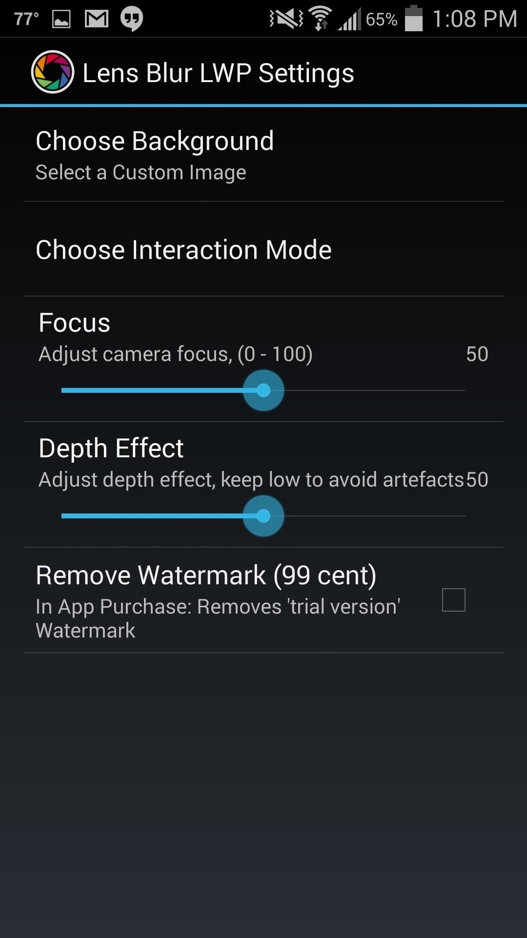 Turn Lens Blur Photos from Google Camera into Stunning Live Wallpapers for Your Galaxy S4