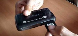 Format a memory card using a card reader and a Windows PC