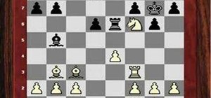 Do a positional queen sacrifice in chess