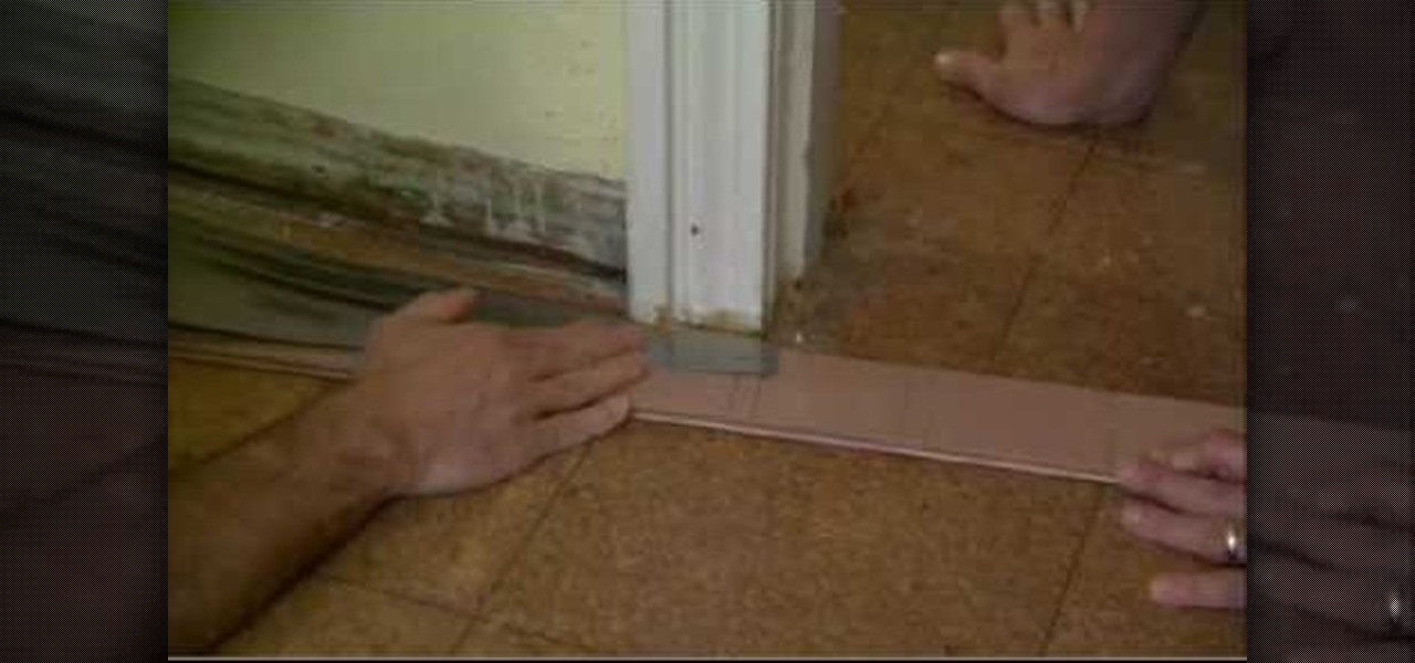 How To Cut A Door Jamb To Install Flooring 171 Construction