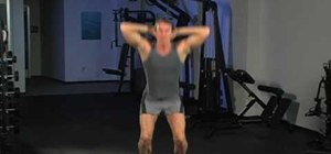 Tone your legs with squats and plyometric jump squats