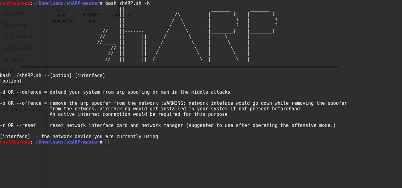 Prevent Your Network from Being ARP-Spoofed with shARP