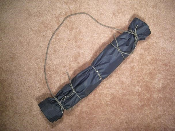 How to Build an Emergency Rucksack with a Poncho & Rope (The Horseshoe Pack)