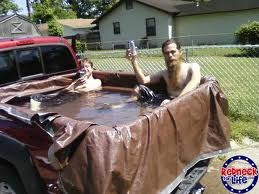 Pickup Truck Baths in the Ritz