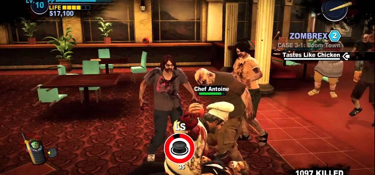 Xbox 360 Dead Rising Cheats