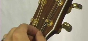 Restring your guitar for beginners