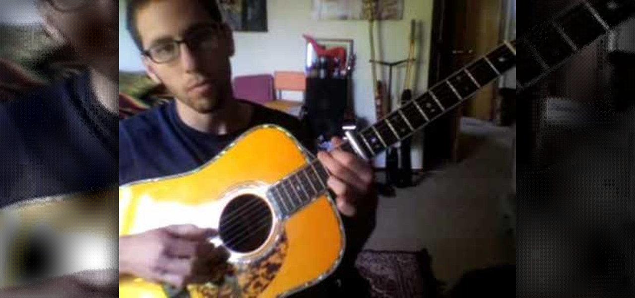 How To Play Chicago By Sufjan Stevens On Acoustic Guitar