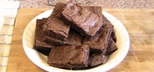 Make quick & easy chocolate brownies