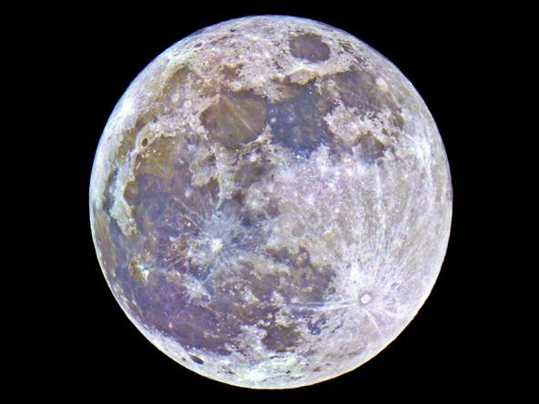 Supermoon Pictures from Last Night
