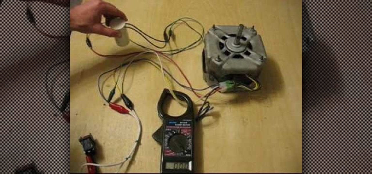 How to Start a single phase induction electric motor