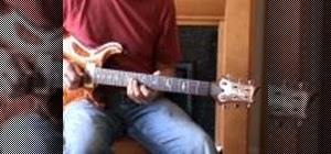 Improvise over altered chords using melodic minor on the guitar