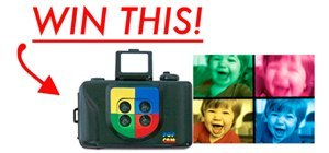Your Best Toy-Inspired Photo by December 5th. WIN: Pop Art Toy Camera