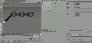 Create a dynamic 3D chain in Cinema 4D