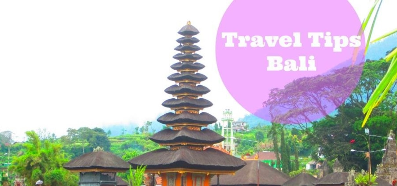Travel in Bali in 2 Days