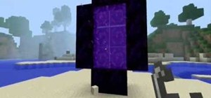 Build a portal to the nether in Minecraft beta