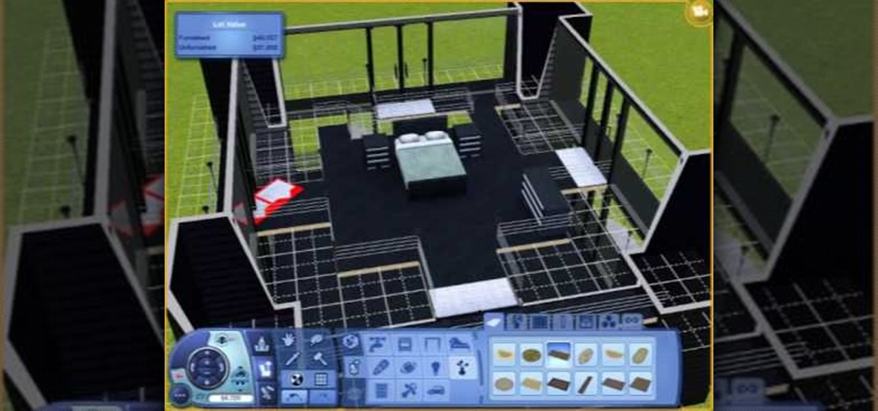 How to build an ultra modern house in sims 3 pc games Create a house game