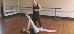 Do ballet exercises at home