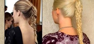 Give yourself Blake Lively's braided ponytail