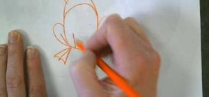 Draw a simple frog