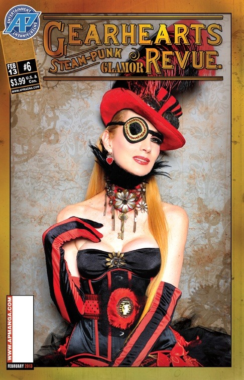 Steampunk Pin-Up (Not Porn!)