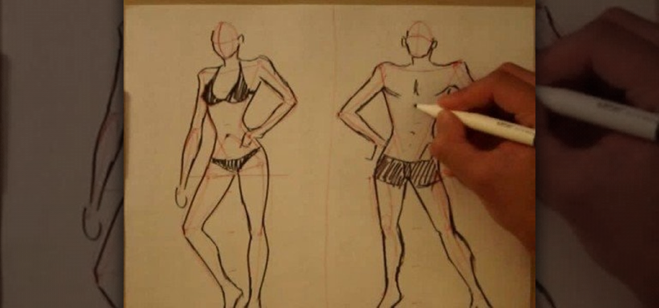 How To Draw The Male Body Drawing Illustration Wonderhowto