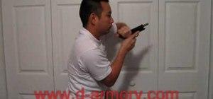 Quickly reload a handgun
