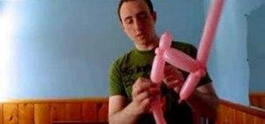 Make a balloon electric guitar