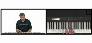 Play the mixolydian mode on the piano
