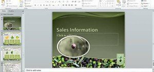 Use the new Paste features in MS PowerPoint 2010